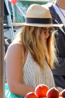 Elizabeth Olsen - At a Farmers Market in Studio City 6/26/16