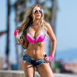 Ana Braga Bikini Pictures in Santa Monica