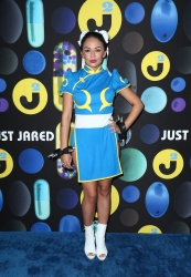 Janel Parrish - 2015 Just Jared Halloween Party @ No Vacancy in Los Angeles - 10/31/15