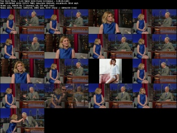 Kate Mara - Late Show with David Letterman - 2-18-14