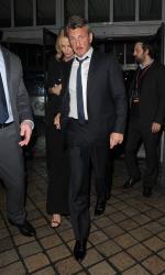 Sean Penn - Charlize Theron and Sean Penn - seen leaving Royal Festival Hall. London - February 16, 2015 (153xHQ) X3ENNbo9