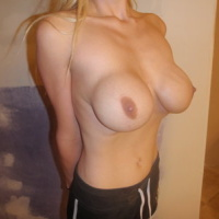 Low-Hanging Fake Boobs