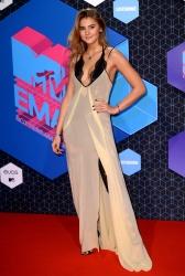 Stefanie Giesinger - MTV Europe Music Awards 2016 @ the Ahoy Rotterdam in Rotterdam - 11/06/16