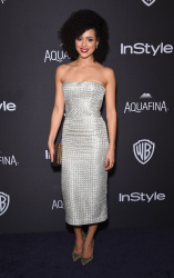 Nathalie Emmanuel - 2016 InStyle & Warner Bros. 73rd Annual Golden Globe Awards Post-Party @ the Beverly Hilton Hotel in Beverly Hills - 01/10/16