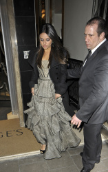 Mila Kunis - leaves her hotel in London 2/28/13