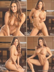 Christine Veronica in Playboys Nudes 2011 USA Special Edition