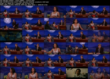 Rosario Dawson - Conan O'Brien - 3-26-14