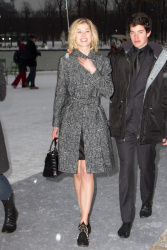 Rosamund Pike - arrives at Dior S/S 2013 Haute Couture show at Paris Fashion Week 1/21/13