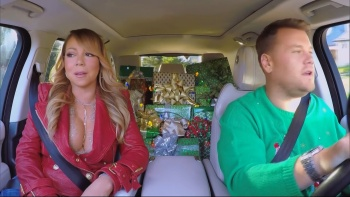 All I Want for Christmas Carpool Karaoke - The Late Late Show With James Corden 15th December 2016 1080i HDMania