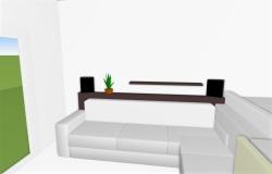 Mensole Dietro Al Divano : Mensole dietro divano u casamia idea di immagine