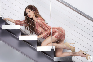 Name Photoset: 2013-09-05 Chrissy Marie Stairs To Heaven