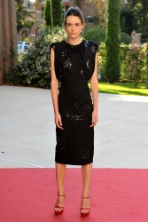 Stacy Martin - 72nd Venice Film Festival Taj Mahal Premiere in Venice - 09/10/15