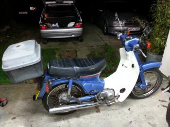 my motorbike honda super cub c90 w782 skh. Black Bedroom Furniture Sets. Home Design Ideas