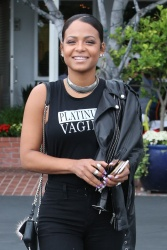 Christina Milian - Out in Los Angeles 5/10/17