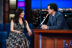 Julie Chen - The Late Show with Stephen Colbert: May 17th 2017