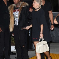 Kylie Jenner   At Kanye Wests Saint Pablo LA Tour on Nov 1