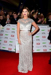 Ferne McCann - 21st National Television Awards @ The O2 Arena in London - 01/20/16