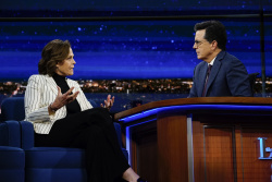 Sigourney Weaver - The Late Show with Stephen Colbert: April 5th 2017
