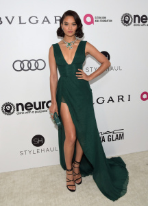 Shanina Shaik - 25th Annual Elton John AIDS Foundation's Oscar Viewing Party in West Hollywood - February 26th 2017