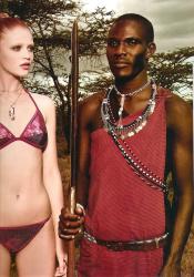 Marie Claire Magazine (2008) Spain