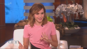 Emma Watson - The Ellen Degeneres Show 3rd March 2017 1080i HDMania