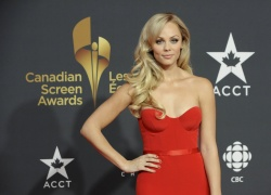 Laura Vandervoort - Canadian Screen Awards in Toronto 3/3/13