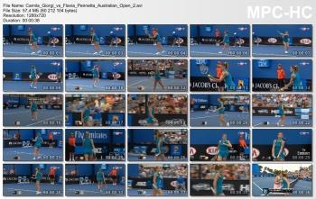 Camila Giorgi Australian Open