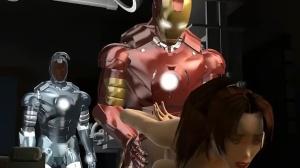 Iron Man and War Machine Action
