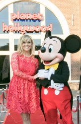 Reese Witherspoon - and Mickey Mouse Officially Open Planet Hollywood Disney Springs in Orlando, Florida 3/17/17