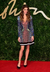 Elisa Sednaoui - 2015 British Fashion Awards @ the London Coliseum in London - 11/23/15