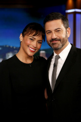 Paula Patton - Jimmy Kimmel Live: August 14th 2017