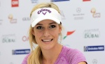 Paige Spiranac Omega Dubai Ladies Masters and press conference December 2015 x33