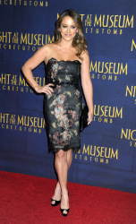 Christine Taylor 'Night At The Museum Secret Of The Tomb' New York premiere 12/11/2014 6