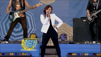 Demi Lovato - Good Morning America 6th June 2014 720p