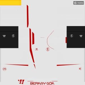 Download Sevilla 14-15 Home Kit by Berkay Gök