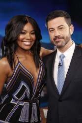 Gabrielle Union - Jimmy Kimmel Live: February 7th 2017