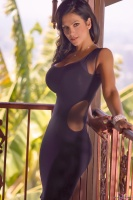 Дениз Милани, фото 5708. Denise Milani Black Dress 2012 :, foto 5708