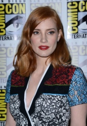 Jessica Chastain - 2015 Comic-Con 'Crimson Peak' Panel in San Diego