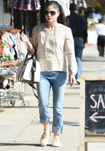 Selma Blair - Out & About in Los Angeles - March 3rd 2017