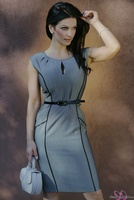 Дениз Милани, фото 5002. Denise Milani Business Suit (High Res) :, foto 5002