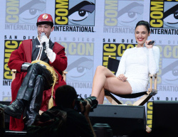 Gal Gadot at Comic Con in San Diego - 7/22/17