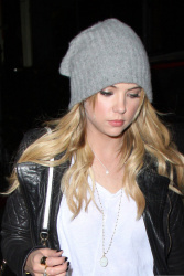 Ashley Benson - at the Chateau Marmont in West Hollywood 4/17/13