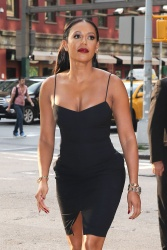 Melanie Brown - Arriving at her hotel in New York City July 22, 2014