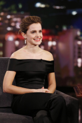 Emma Watson - Jimmy Kimmel Live: March 6th 2017