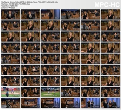 Edie Falco - Jimmy Fallon 4/28/2015