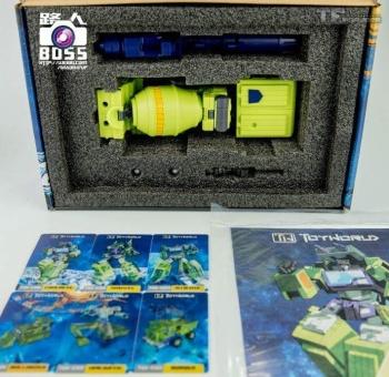 [Toyworld] Produit Tiers - Jouet TW-C Constructor aka Devastator/Dévastateur (Version vert G1 et jaune G2) - Page 4 Sywoq0OS