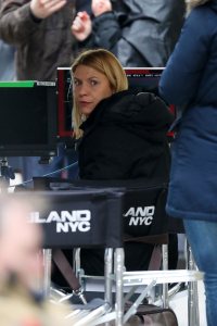 Claire Danes - On The Set Of Homeland in New York - February 22nd 2017