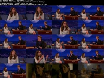 Michelle Monaghan - Conan O'Brien - 2-5-14