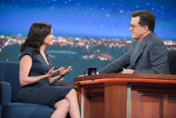 Sheryl Sandberg - The Late Show with Stephen Colbert: April 24th 2017