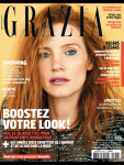 Jessica Chastain - Grazia France February 2017